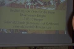 Imkerverein Bergen Vortragsveranstaltung